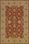 Oriental Weavers Nadira 137M2 Rust/Gold Closeout Area Rug