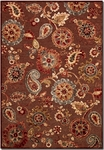 Couristan Cire 1386/7292 Marlow Quartz/Ruby Closeout Area Rug - Spring 2017