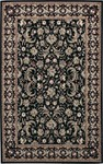 Couristan Everest 1433/9571 Bouquet Scroll Ebony Closeout Area Rug - Spring 2010