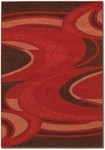 Couristan Metropolis 1532/9836 Saturn Red Closeout Area Rug