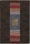 Couristan Everest 1573/3733 Montage Chocolate Multi Closeout Area Rug - Spring 2010