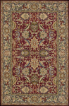 Nourison Sixteenth Century 1628 RED Red Closeout Area Rug