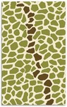 Rug Market Kids 16475 Tarzan Green/Brown/Cream Closeout Area Rug
