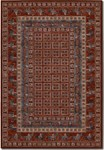 Couristan Old World Classics 1660/1300 Pazyrk Antique Red Area Rug