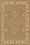 Couristan Chanterelle 1720/0003 Antique Ispaghan Gold Closeout Area Rug