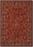 Couristan Old World Classics 1726/3200 Antique Kashan Burgundy/Navy Closeout Area Rug