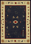 Radici USA Italia 1829 Navy Closeout Area Rug