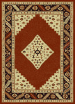 Radici USA Italia 1830 Brick Closeout Area Rug