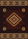 Radici USA Italia 1831 Brown Closeout Area Rug