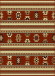 Radici USA Italia 1832 Brick Closeout Area Rug