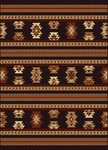 Radici USA Italia 1832 Brown Closeout Area Rug