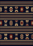 Radici USA Italia 1832 Navy Closeout Area Rug