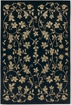 Couristan Silken Treasures 1850/0181 Elysium Midnight Closeout Area Rug - Spring 2011