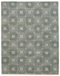Capel Siam 1881-330 Flower Grey Area Rug