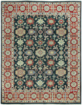 Capel Legacy 1902-450 Keshan Blue Red Closeout Area Rug