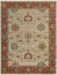 Capel Yazzie 1908-650 Ivory Red Area Rug