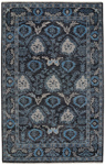 Capel Park Lane 1910-340 Vintage Black Area Rug
