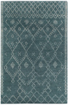 Capel Kasbah 1924-444 Diamond Aqua Area Rug