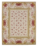Peel & Company Needlepoint 2002-A Habersham Toile Fruit Closeout Area Rug