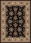 Radici USA Vesuvio 1691 Black Closeout Area Rug