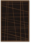 Couristan Contempo 2028/0028 Gridlock Charcoal Closeout Area Rug - Spring 2011