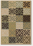 Couristan Covington 2107/1007 Dixie Multi Closeout Area Rug