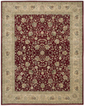 Nourison 2000 Collection 2107 Burgundy Closeout Area Rug