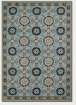 Couristan Covington 2109/1095 Suncrest Azure/Multi Closeout Area Rug - Spring 2014