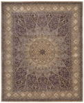 Nourison 2000 Collection 2117 Lavender Closeout Area Rug