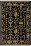 Karastan English Manor 2120-514 William Morris Black Closeout Area Rug