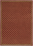 Karastan English Manor 2120-517 Coventry Trellis Red Closeout Area Rug