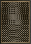Karastan English Manor 2120-530 Coventry Trellis Black Closeout Area Rug