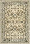 Karastan English Manor 2120-540 Somerset Lane Ivory/Blue Closeout Area Rug