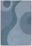 Couristan Super Indo-Colors 2150/8600 Pegasus Blue Closeout Area Rug
