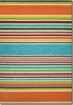 Couristan Covington 2296/3067 Sherbet Stripe Multi Area Rug