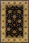 Oriental Weavers Windsor 23106 Black/Ivory Closeout Area Rug