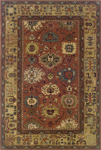 Oriental Weavers Windsor 23107 Red Closeout Area Rug