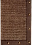 Rug Market Frisco 23308 Sisal Sonoma Brown Nail Head Closeout Area Rug
