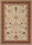Couristan Antalya 2366/0222 Manisa Cream-Ruby Closeout Area Rug - Spring 2017