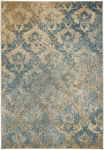 Capel Caravan 2477-475 Adriatic Tuscan Blue Area Rug