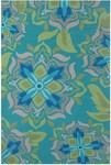 Rug Market Resort 25358 Andalucia Green/Beige/Blue Closeout Area Rug