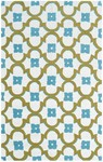 Rug Market Resort 25395 Salisbury Cream/Blue/Green Closeout Area Rug