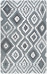 Rug Market Resort 25453 Navajo Grey/White Area Rug