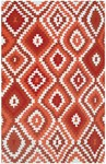 Rug Market Resort 25456 Navajo Red/Orange/White Area Rug