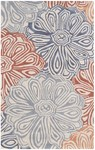 Rug Market Resort 25473 Multi Flower Closeout Area Rug