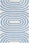 Rug Market Resort 25477 Mod Blue Closeout Area Rug