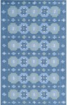 Rug Market Resort 25492 Narragansett Blue/Multi Closeout Area Rug