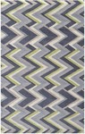 Rug Market Resort 25493 Grey Victor Grey/Green/Cream Area Rug