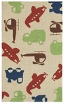 Rug Market Kids 25603 Voyage Brown Closeout Area Rug