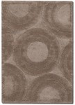 Couristan Focal Point 2636/6081 Erosion Mocha Closeout Area Rug